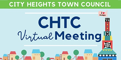 City Heights Town Council Meeting tickets