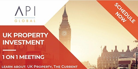 1 on 1 UK Property Investment Session (Meetings, Calls & Zooms) tickets