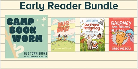 Camp Bookworm Early Readers Bundle tickets