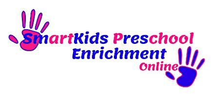 ONLINE PRESCHOOL REGISTRATION 1 WEEK FREE tickets