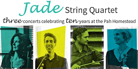 Jade String Quartet: Celebrating Ten Years at the Pah – Concert One tickets