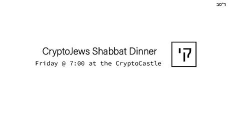 CryptoJews Shabbat Dinner tickets