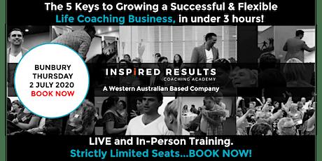 The 5 Keys to Growing a Successful & Flexible Life Coaching Business: Bunbu tickets