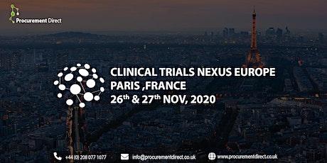 Clinical Trials Nexus Europe billets
