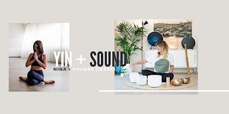 Yin Yoga and Sound Bath tickets