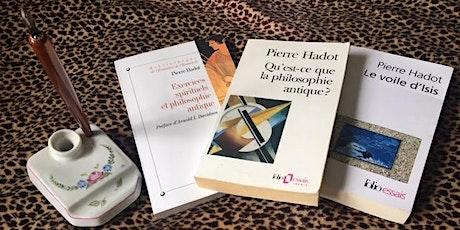 Pierre Hadot: La philosophie comme mode de vie billets