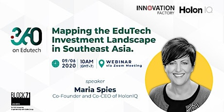 "i360 Edutech ""Mapping the EdTech Investment Landscape in Southeast Asia"" tickets"