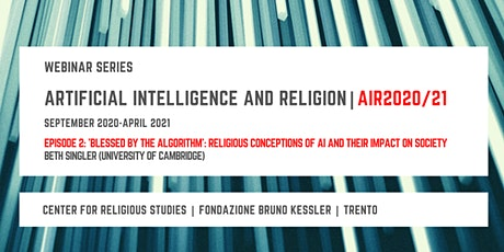 Artificial Intelligence and Religion – AIR2020/21,  second episode tickets