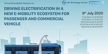 Driving Electrification in a New e-Mobility Ecosystem tickets