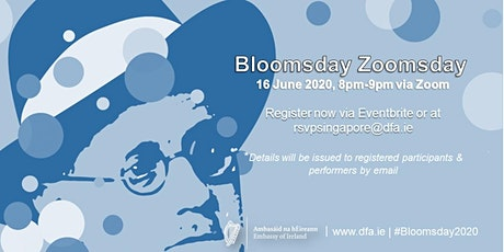 Bloomsday Zoomsday tickets