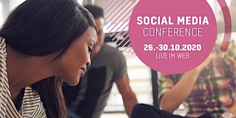 SOCIAL MEDIA CONFERENCE   26.-30.10.2020 Tickets