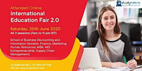 Online OIEF 2.0 on Accounting Information Systems, Finance & Marketing tickets