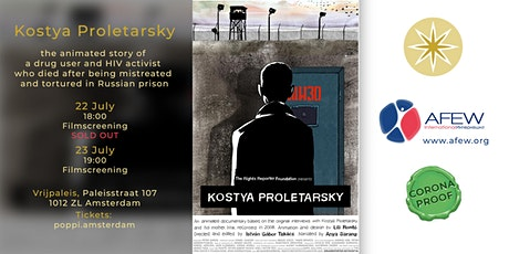 'Kostya Proletarsky' an animation film tickets
