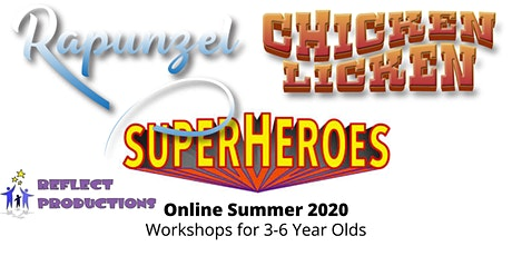 Online Summer Drama Courses for 3-6 Year Olds tickets