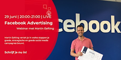 Webinar | 29 juni | Facebook Advertising tickets