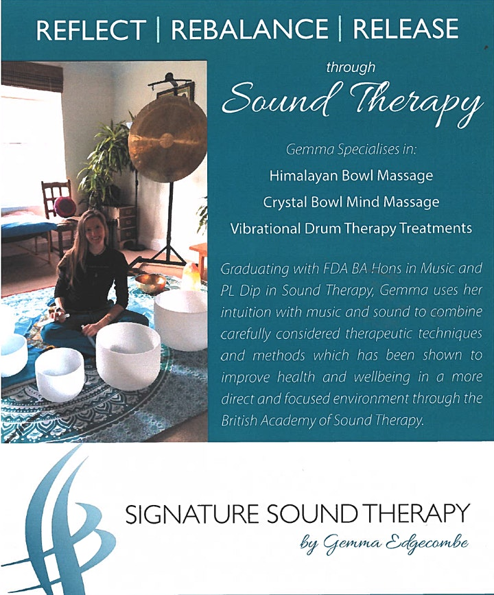 Sound Bath Therapy Taster - 30 minute sessions image