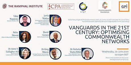 Vanguards in the 21st Century: Optimising Commonwealth Networks tickets
