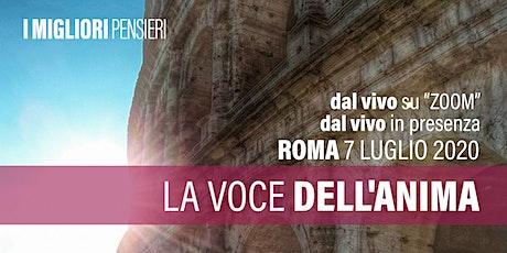 La voce dell'Anima - Roma - martedì 7 luglio 21:00 biglietti