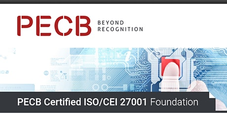 PECB Certified ISO/CEI 27001 Foundation tickets
