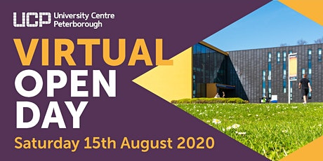 Virtual Open Day - University Centre Peterborough (Saturday 15 August 2020) tickets