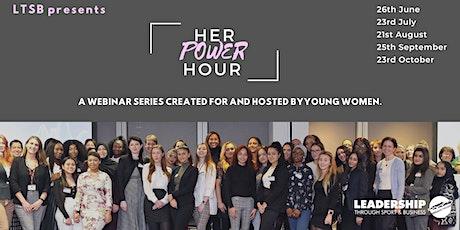 "LTSB's ""Her Power Hour"" Webinar Series| MALE ALLIES | 23.07.20 tickets"