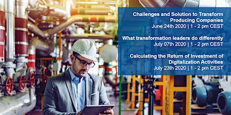 Webcast Series - Preparing Manufacturing Companies for the Digital Age tickets