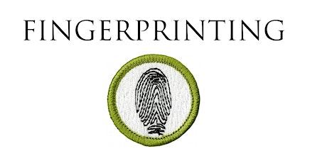Fingerprinting Online Merit Badge tickets