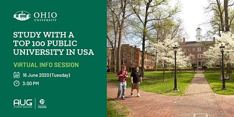 Study with a Top 100 Public University in USA tickets