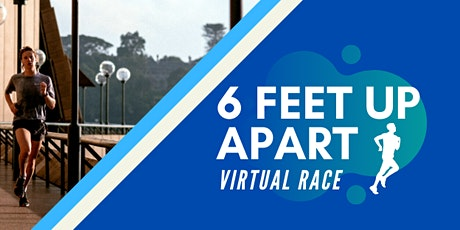 6 Feet Apart Virtual Race 5K/10K/Half-Marathon AUSTRALIA tickets