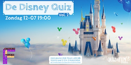 De Disney Quiz  Vol.2| Utrecht tickets