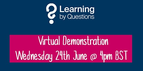 Learning by Questions invites Camden schools to a virtual demonstration tickets