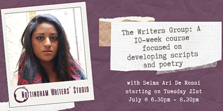 The Writers Group: A 10-week course focused on writing scripts and poetry tickets