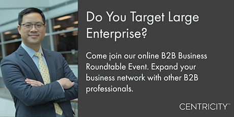 Do You Target Large Enterprise?  Join Our B2B  Business Roundtable  | USA tickets