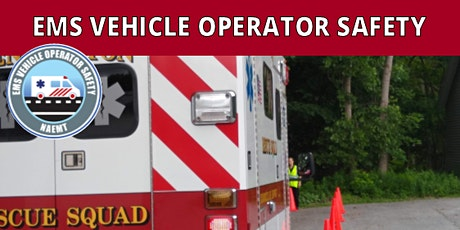 NAEMT EMS Vehicle Operator Safety (EVOS) tickets