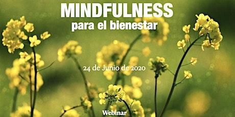 """WEBINAR """" Taller de Mindfulness para el Bienestar"""" entradas"""