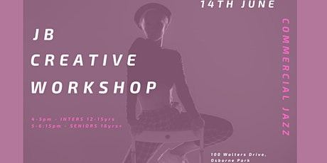 JB Creative SENIOR Workshop 16+  5pm-6:15pm tickets