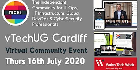vTechUG Cardiff & Birmingham Virtual Community Event tickets