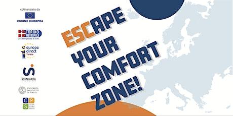 ESC_APE YOUR COMFORT ZONE  -   Scopri il Corpo Europeo di Solidarietà biglietti