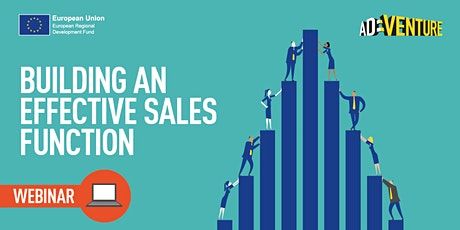 ONLINE ADVENTURE - Business Workshop Building an Effective Sales Function Part 1 tickets