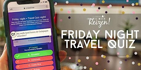 Friday Night Travel Quiz - 26 juni tickets
