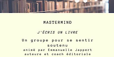 Groupe Mastermind pour écrire un livre billets