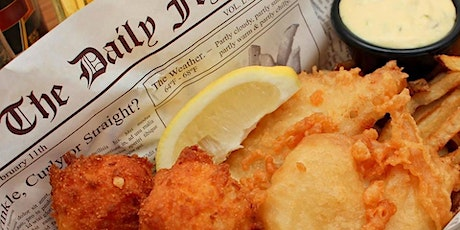 R & J's Fish, Wings & Things food truck tickets