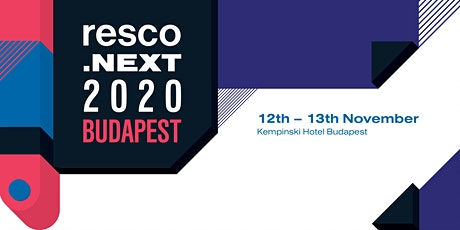 resco.next 2020 Budapest tickets