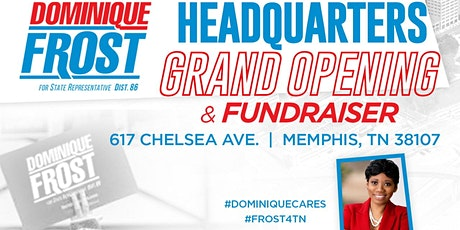 Headquarters Grand Opening & Fundraiser tickets