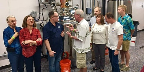 Distillery tour and tasting - craft rum and whiskey
