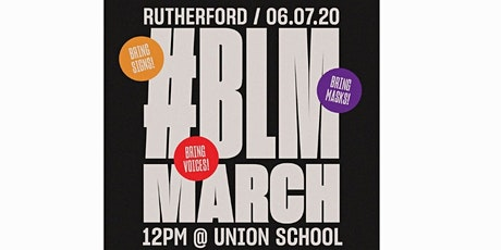 Black Lives Matter March - Rutherford, NJ tickets