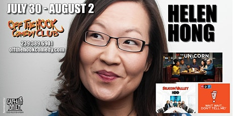 Comedian Helen Hong Live  in Naples, FL at Off the hook comedy club tickets