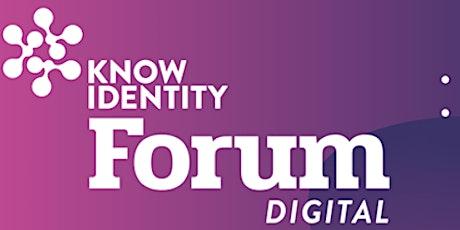 KNOW Identity Summer Security Digital Forum tickets