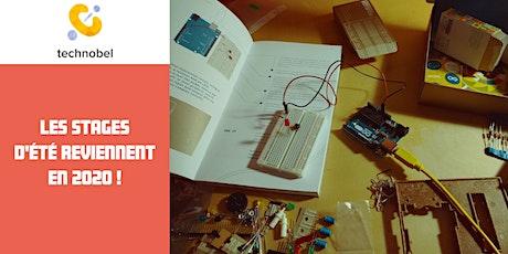 Les stages d'été de Technobel au TRAKK Namur (session 3) billets