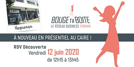 Invitation BougeUP 12/06 billets